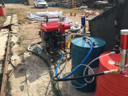 聚脲防腐防水喷涂施工