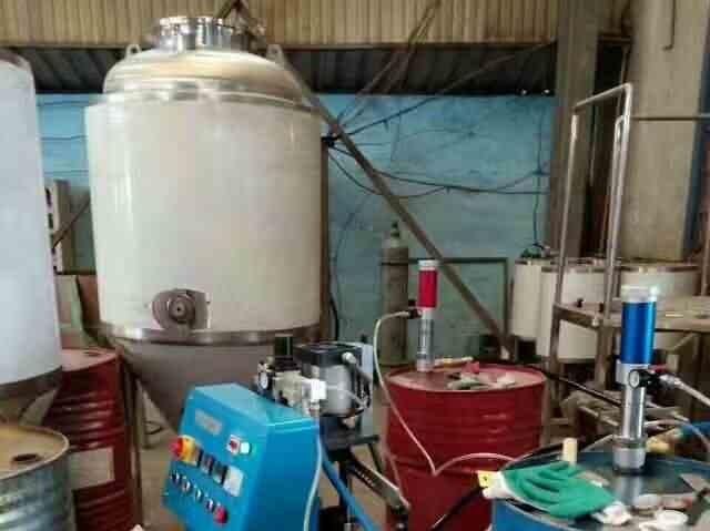 啤酒罐喷涂填充